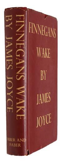 image of Finnegans Wake. - [MAIN WORK OF 20TH CENTURY LITERATURE]