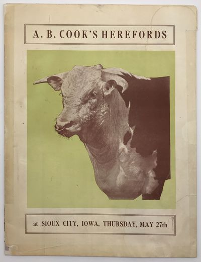 Kansas City, Mo: Breeders Printing Company, 1920. Good.. Poster, 38 x 25 inches. Folds into a folio ...