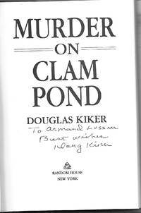 MURDER ON CLAM POND   ***INSCRIBED COPY ***