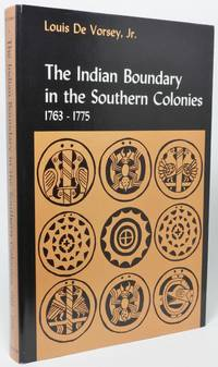 image of THE INDIAN BOUNDARY IN THE SOUTHERN COLONIES, 1763-1775