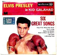 image of Elvis Presley Kid Galahad EP