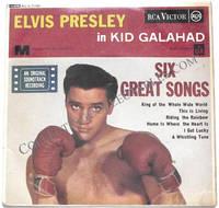 Elvis Presley Kid Galahad EP by Elvis Presley - First printing - 1963 - from The First Edition (SKU: 378)