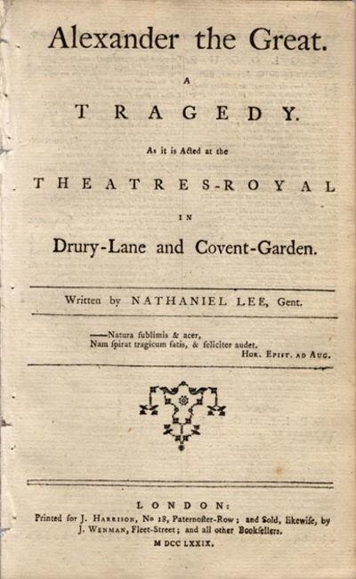 London: J. Harrison, 1779. 8vo. 16 pp. (lacks the plate).  ESTC T21202. Very good; d...