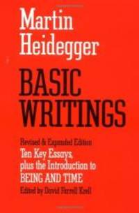 image of Basic Writings: Ten Key Essays, plus the Introduction to Being and Time