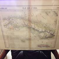 image of Atlas Universel De Geographie, Physique, Politique Et Mineralogique North  America - Map of the Island of Cuba (Ile De Cuba)