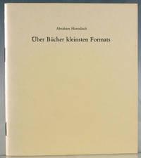 Über Bücher Kleinsten Formats