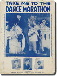 Take Me to the Dance Marathon (Original sheet music for the 1932 song)