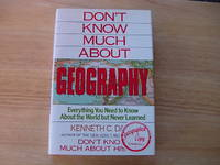 Don't Know Much About Geodraphy  - Signed