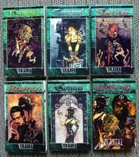 VAMPIRE: THE MASQUERADE. 6 BOOKS FROM THE CLAN NOVEL SERIES: TZIMSCE / GANGREL / SETITE / RAVNOS...