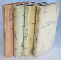 Set of Winnie the Pooh First Editions 4 Volumes -- When We were very young -- Winnie the Pooh --...