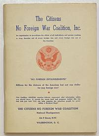 image of The Citizens No Foreign War Coalition, Inc. [Interior title: A Manual of the Citizens No Foreign War Coalition, Inc.]