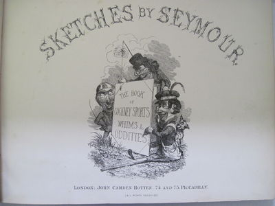 SEYMOUR'S SKETCHES; THE BOOK OF...