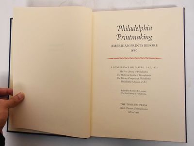 West Chester, PA: The Tinicum Press, 1977. Hardcover. VG- (foxing to block, pages are otherwise clea...