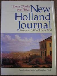 New Holland Journal, November 1833 - October 1834.