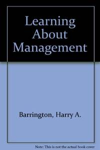 Learning About Management