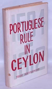 Portuguese Rule in Ceylon, 1594-1612