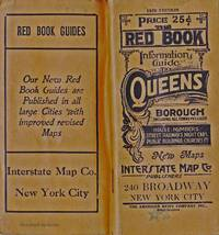 image of THE RED BOOK INFORMATION AND STREET GUIDE OF QUEENS BOROUGH NEW YORK CITY  WITH INDEXED MAP