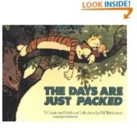 The Days Are Just Packed- Calvin and Hobbes