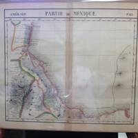 image of Atlas Universel De Geographie, Physique, Politique Et Mineralogique North  America - Map of Southeastern Mexican Coast (Partie Du Mexique)