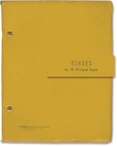 New York: Picket Productions, 1972. Draft script for the 1973 play which premiered at the Bjijou The...
