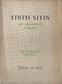 Edith Stein 1891-1942 par une moniale du Carmel, préface de H.-I. Marrou
