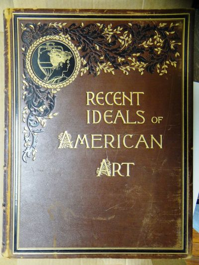 New York and London: D. Appleton & Company, 1890. Hardbound. VG+, however ex art ibrary with stamps ...