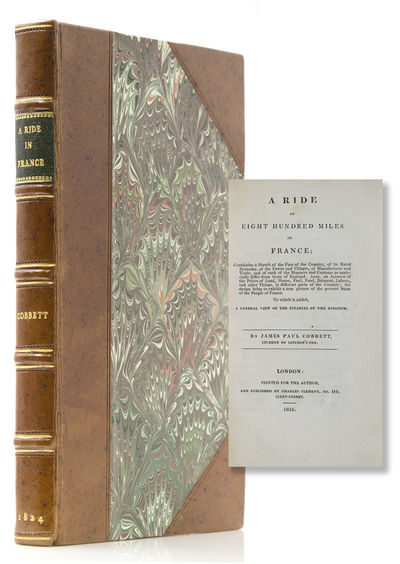 London: Printed for the Author, and published by Charles Clement, 183 Fleet-Street, 1824. First edit...