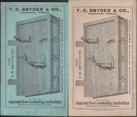 T. C. Snyder & Co., Canton, Ohio Advertising Circular