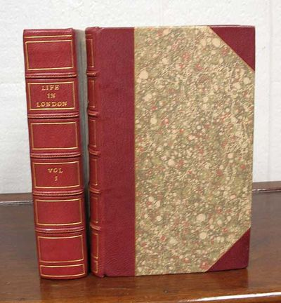 London: Printed for Jones & Co, 1824. 1st ed. Modern maroon half-leather binding with marbled boards...