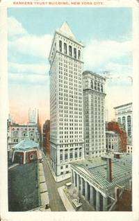 Bankers Trust Building, New York City 1920 used Postcard