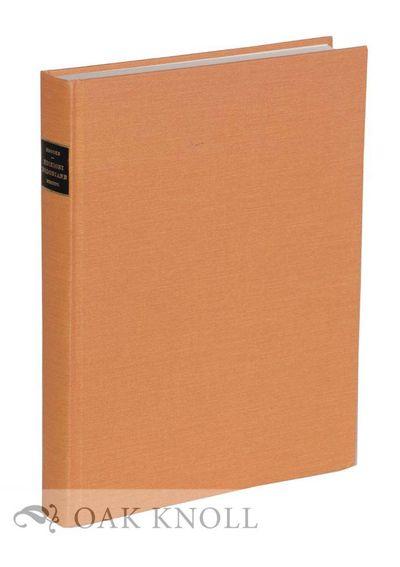 (Mansfield Centre: Maurizio Martino Publisher, 1994. cloth. Bodoni, Giambattista. small 4to. cloth. ...