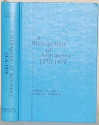 A BIBLIOGRAPHY OF ASTRONOMY 1970-79