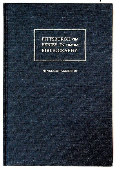 Pittsburgh: University of Pittsburgh Press. Hardcover. Near Fine. Hardcover. Bound in blue cloth wit...