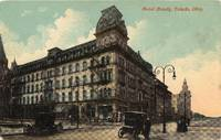 image of 1915 Postcard View of the Hotel Boody in Toledo , Ohio