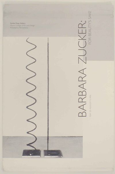Philadelphia, PA: Goldie Paley Gallery, Moore College of Art and Design, 1996. First edition. Exhibi...
