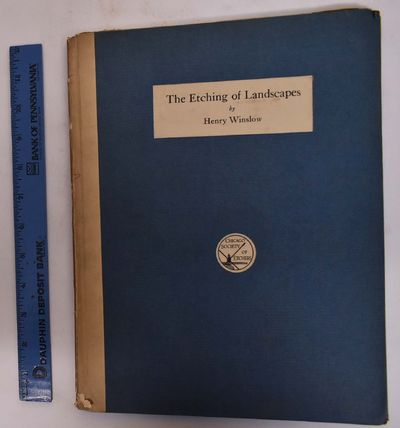 Chicago: Chicago Society Of Etchers, 1914. Hardcover. VG only light wear. bookplate on inside of fro...