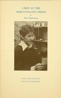 A boy at the Whittington Press