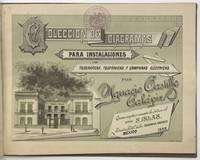 Coleccion de Diagramas para Instalaciones Telegraficas, Telefonicas y Campanas Electricas por Ignacio Castillo Calapiz