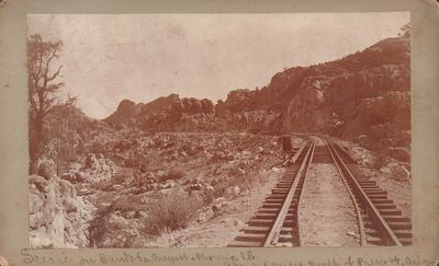 Prescott, Arizona: Hamaker. Very Good. Boudoir Card. oudoir card depicting the Santa Fe, Prescott an...
