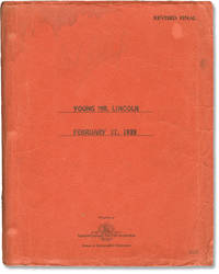 image of Young Mr. Lincoln (Original screenplay for the 1939 film)