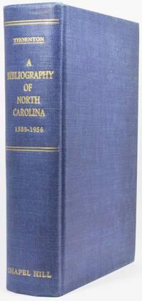 image of A BIBLIOGRAPHY OF NORTH CAROLINA, 1589-1956