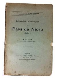 Legendes Historiques du Pays de Nioro (Sahel)