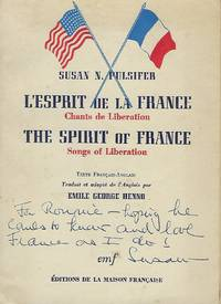 L'ESPRIT DE LA FRANCE CHANTS DE LIBERATION/ THE SPIRIT OF FRANCE SONGS OF LIBERATION