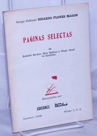 image of Páginas selectas de Rodolfo Rocker, Max Nettlau y Diego Abad de Santillán