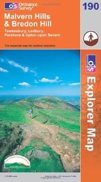image of Malvern Hills and Bredon Hill (Explorer Maps) (OS Explorer Map Active)