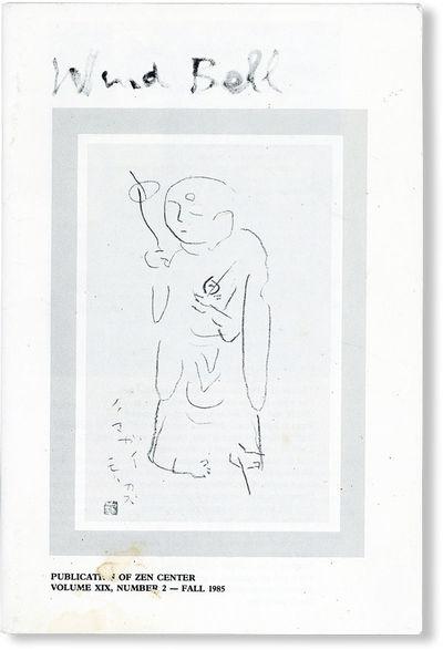: Zen Center, 1985. First Edition. Paperback. Octavo (23cm.); pictorial staplebound self-wrappers; 3...