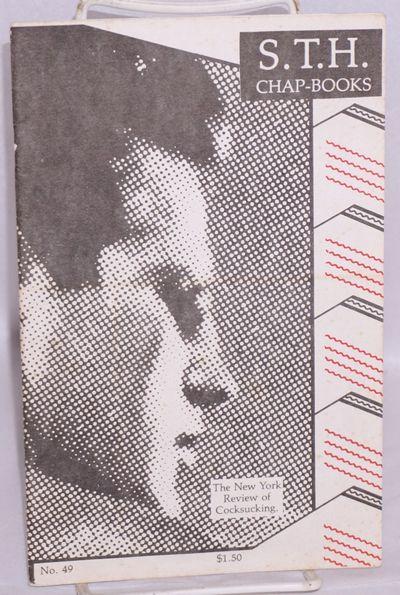 New York: S.T.H., 1981. Magazine. 31p., 5.5x8.5 inches,very good digest sized magazine, b&w photos, ...