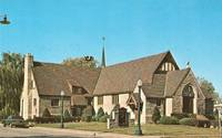 GRACE LUTHERN CHURCH, SOUTH MAIN STREET, PARIS, ILLINOIS 1974 Stamped unused Postcard