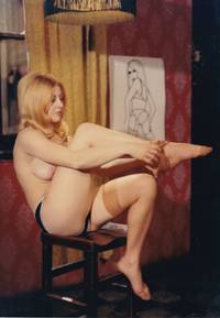 Naked England (Collection of three original photographs from the 1969 sexploitation film)