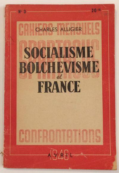 Paris: Imprimerie Speciale de la Revue Spartacus, 1946. 93p.,slender paperback, pages toned, spine h...